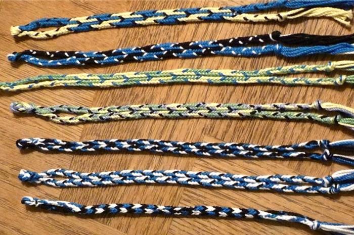 Dan Gaiser's 7-loop spanish braids.