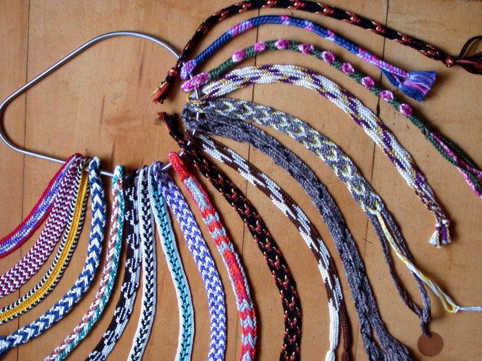 8-Loop Double Braids. Loop braids, loopbraider.com