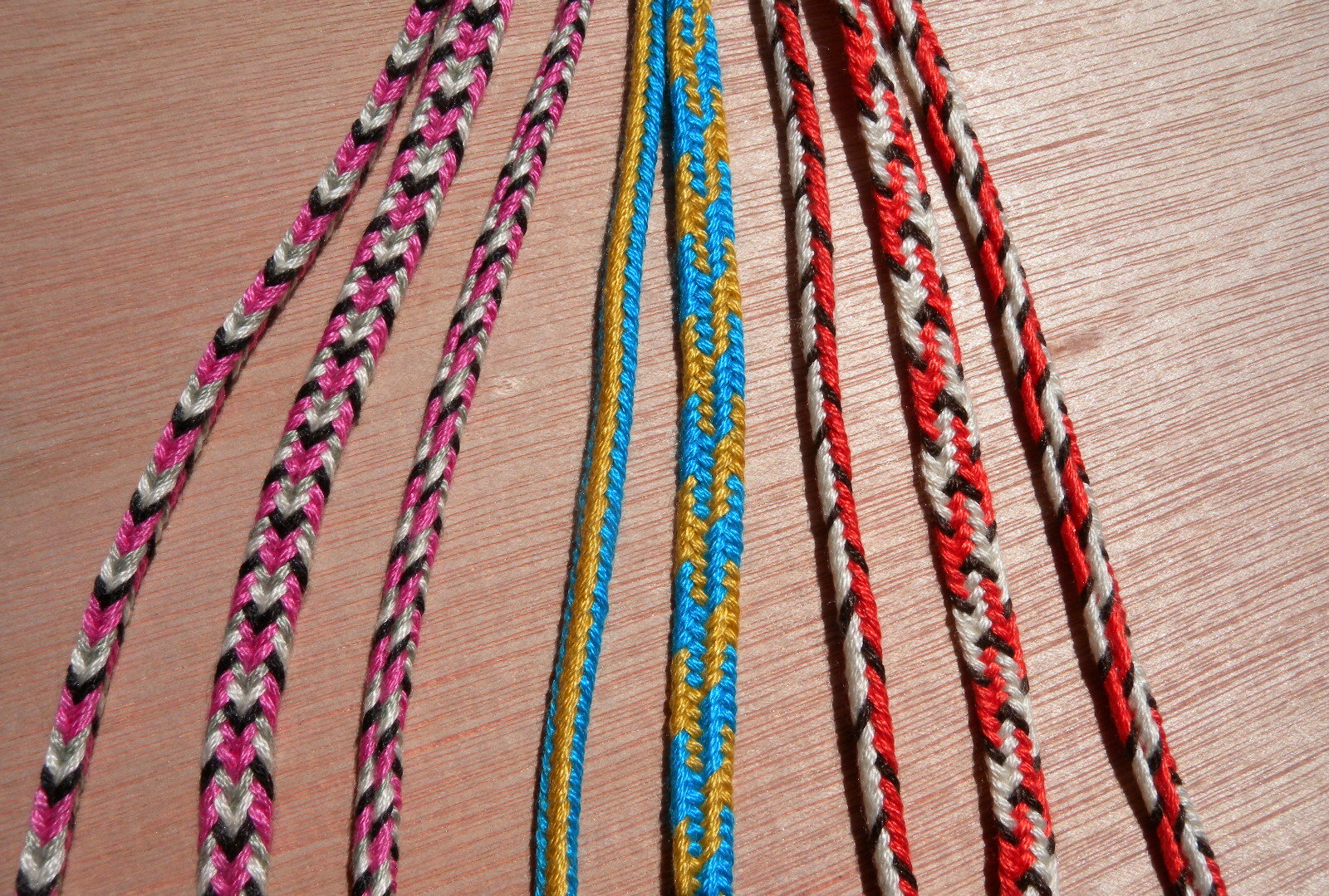 Colorpattern Planning Square And Flat Braids  Loop Braiding