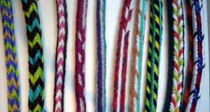 Kute-uchi braids, 16-36 loops