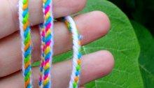 Ricky's 5-loop bicolor braids