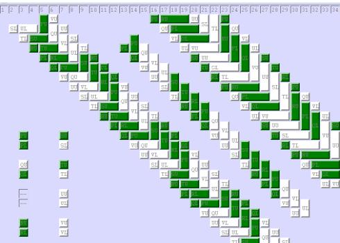 fingerloop braid pattern-planner for the 7-loop spanish braid