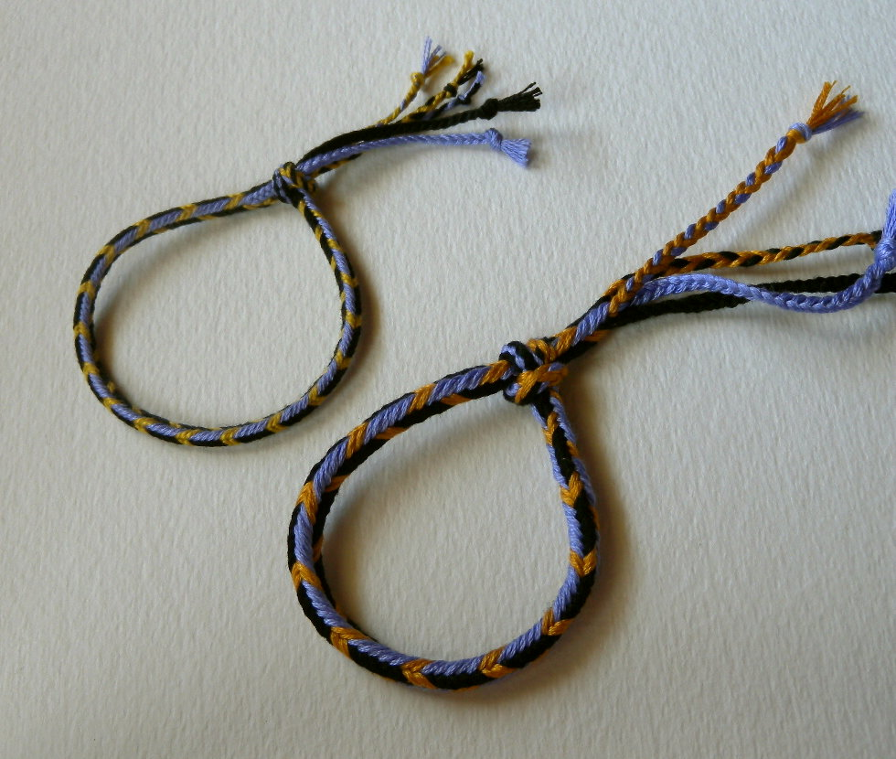 how to make loop braid