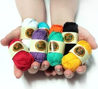 "Lion brand ""Bonbons"" sport weight braiding yarn"