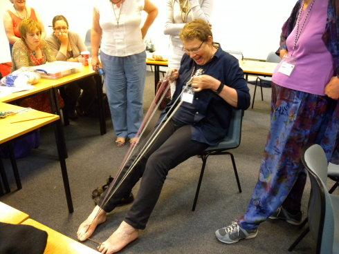 Joy Boutrup amazing her Braids 2012 class
