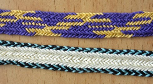 Braids 2012, Ingrid Crickmore, fingerloop braiding workshop