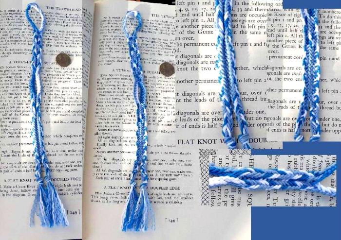 8-loop flat double braid, braid and photo by Dan Gaiser
