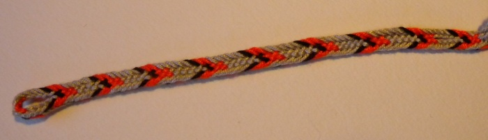 8-loop hollow double braid, no bicolor loops