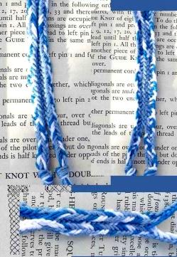 Dan Gaiser, 8-loop flat double braid with color-linking