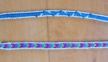 photo of two double braid color variations