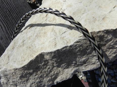 Traci Scachette, 6-loop square braid, horsehair