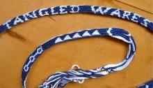 17th C letterbraid