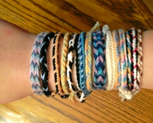 Hannah's loop braided bracelets