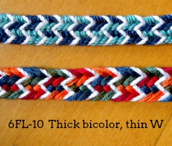 6-loop flat braid (6FL-10)