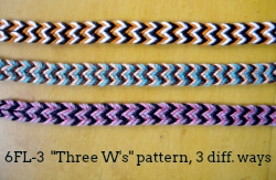 6-loop flat braid (6FL-3)