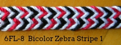 6-loop flat braid (6FL-8)