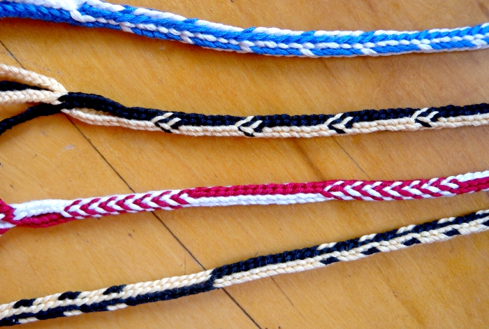 Doug's Braid pick-up patterns, by loopbraider.com