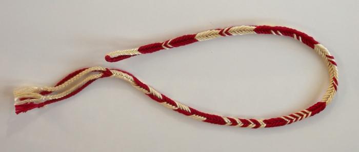 Square loop braid, pick-up patterns