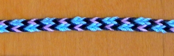 5-loop triangle braid