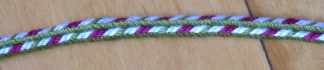 7-loop triangle braid, Edge variation