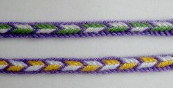 9- and 8-loop triangle braids, no turns