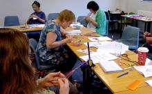 Braids 2012 workshop, Manchester, England