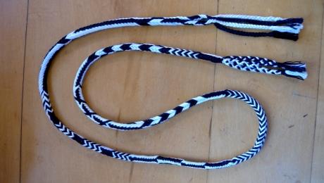Pattern Sampler 6-loop braid, big thumbnail image