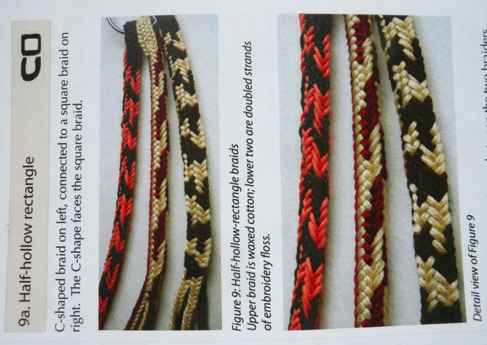10-loop, 4-transfer Double braids with 3 turned loop transfers - Half-hollow shape. (Strands That Move article on double braids). loopbraider.com. Fingerloop, loop-manipulation braiding